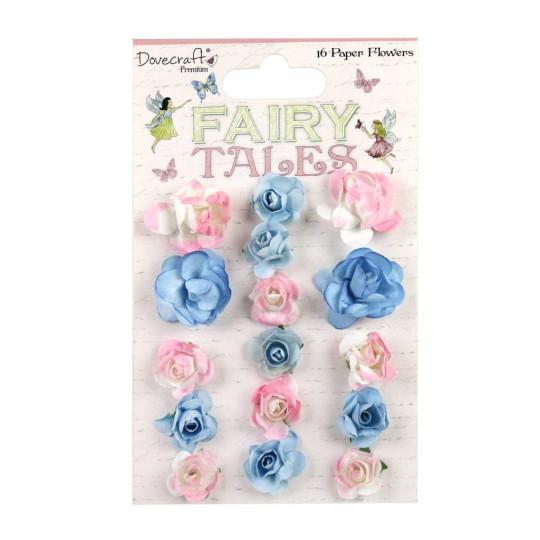 Lot 16 fleurs Fairy Tales...