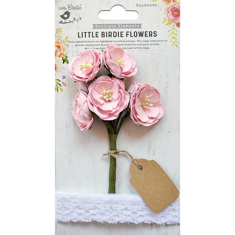 Fleurs Mardelle Rose LITTLE BIRDIE
