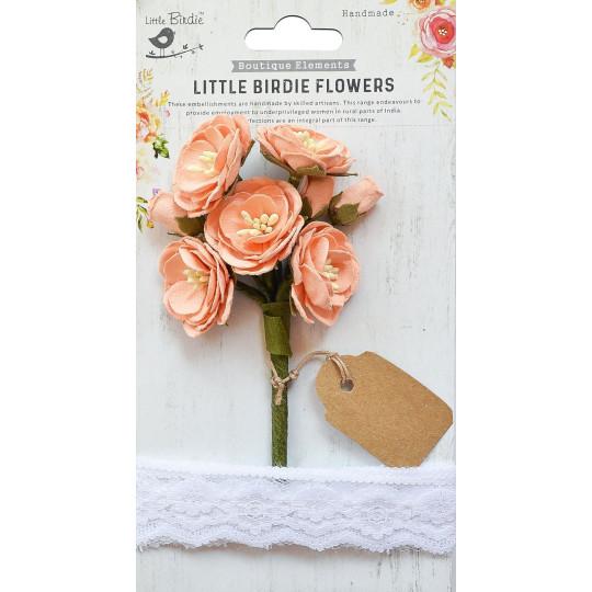 Fleurs Mardelle Saumon...