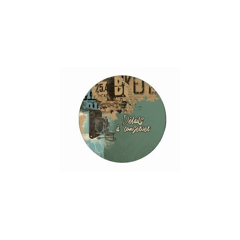 Badge Détails à conserver collection Shooting photos LORELAÏ DESIGN
