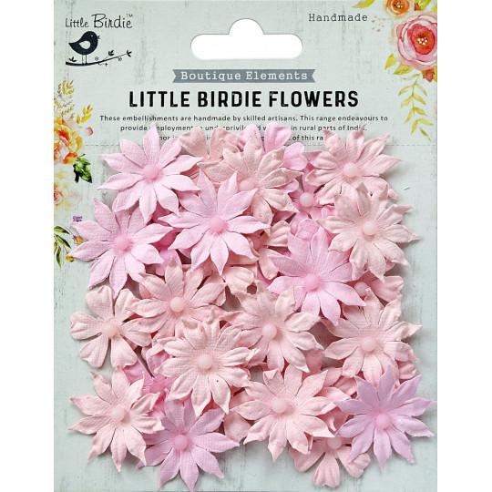 Fleurs Valérie Pearl Pink LITTLE BIRDIE