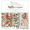 Bloc 12 papiers scrapbooking 30 x 30 collection Home for Christmas MINTAY BY KAROLA