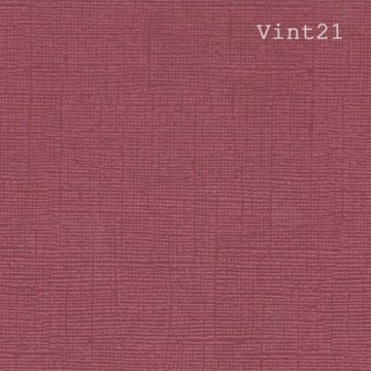 Papier cardstock uni 30 X 30 aspect vintage Bordeaux EPHEMERIA