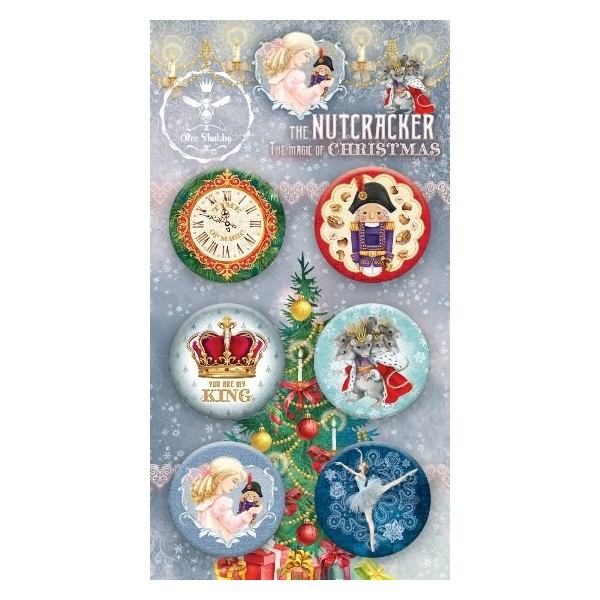 Lot 6 badges collection The Nutcracker BEE SHABBY