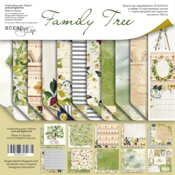 Set 10 papiers scrapbooking...