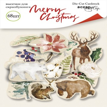 Die cuts cardstock collection Merry Christmas SCRAPMIR