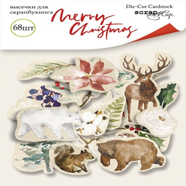 Die cuts cardstock collection Merry...