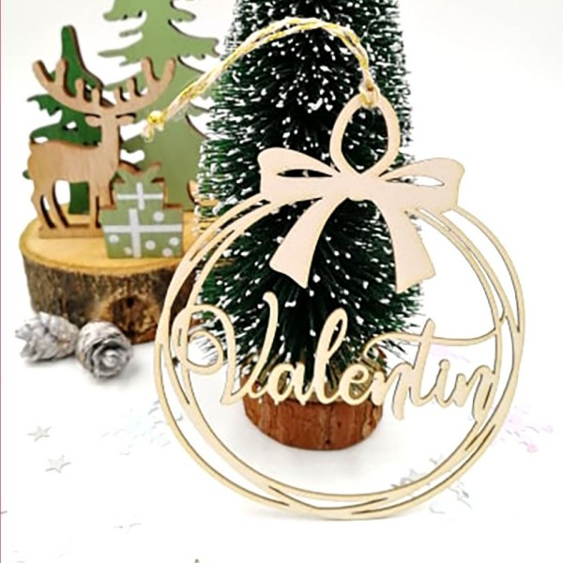 Boule de Noël personnalisée avec votre prénom SCRAPMOUSET