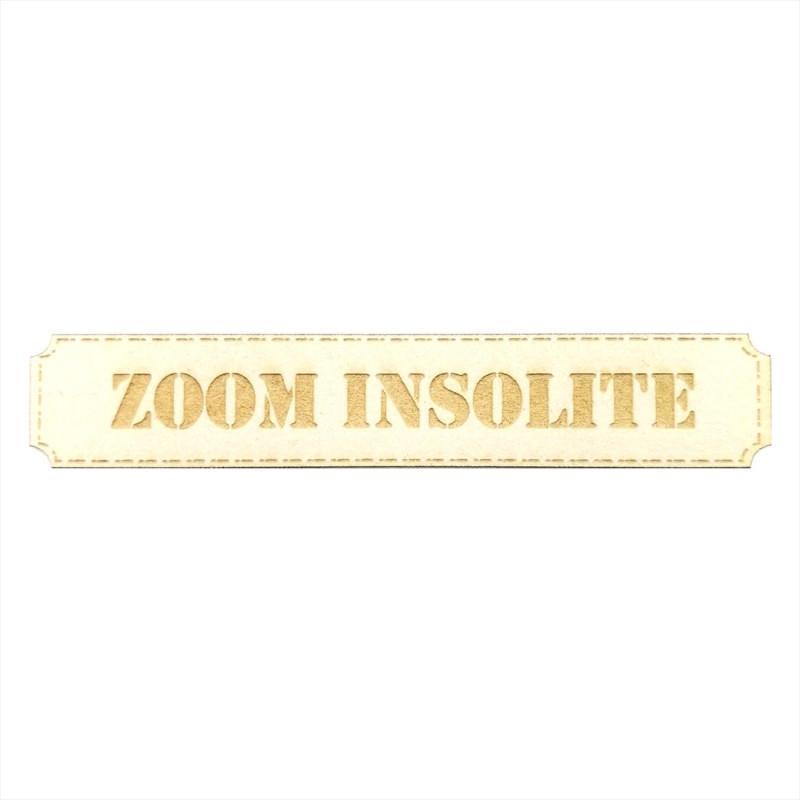 Etiquette rectangulaire Zoom insolite en carton bois SCRAPMOUSET