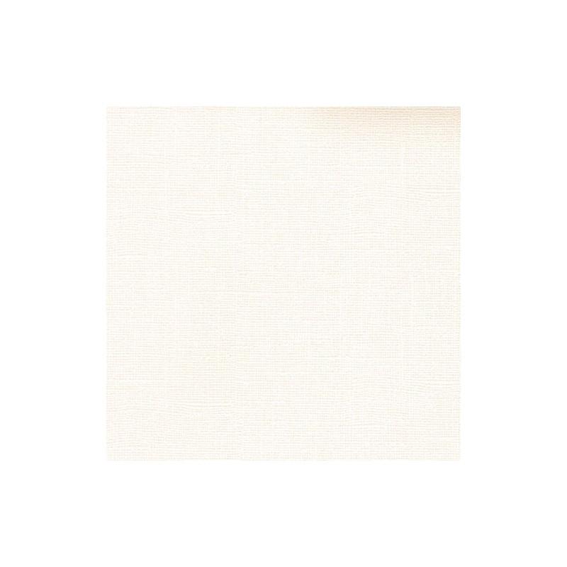 "Papier cardstock uni 30x30 ""Ivory"" - Scrapberry's"